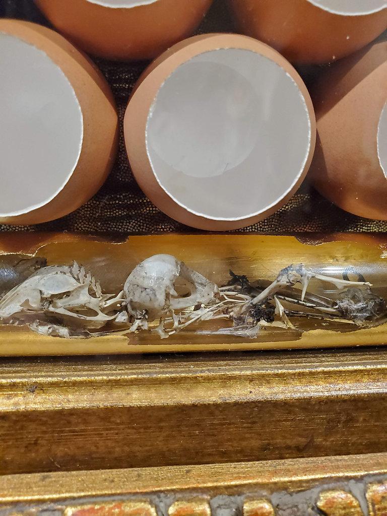 Ossuary detail